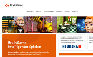 Webseite - Braingame Publishing GmbH